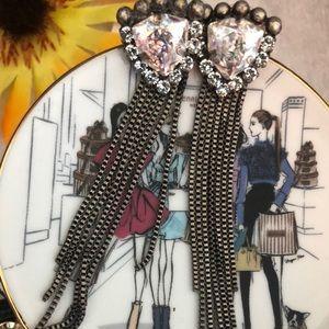 Hb  x Tova Earrings for Henri Bendel